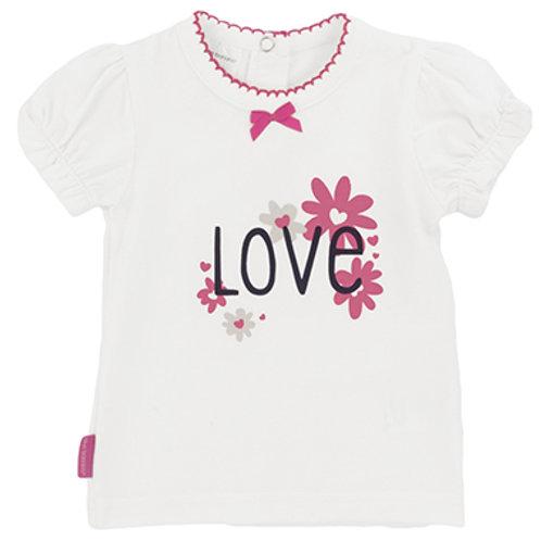 T-shirt fleurs - Kushies