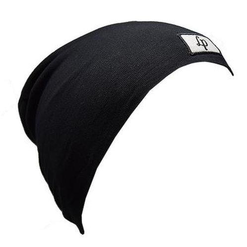 Tuque coton noir - L&P