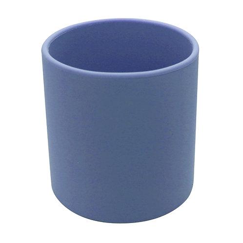 Silicup verre en silicone Bleu minéral -  Kushies