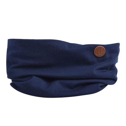 Foulard coton marine - L&P