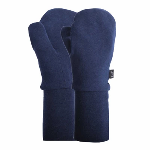 Mitaine mi-saison coton marine -  L&P