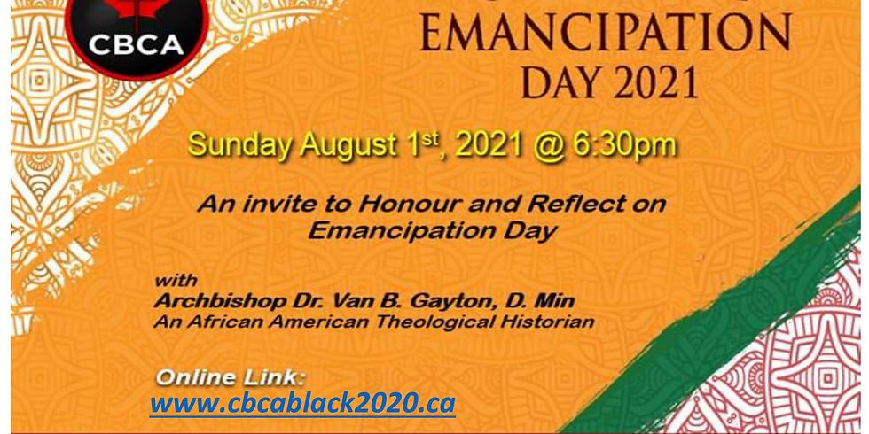 Celebrating Emancipation Day 2021