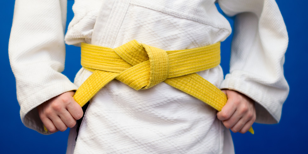 Judo Grading Under 8's July 2021