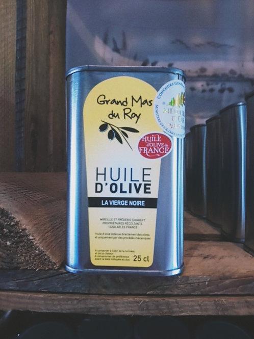 Huile d'olive vierge noire 25 cl