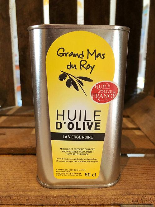 Huile d'olive vierge noire 50 cl
