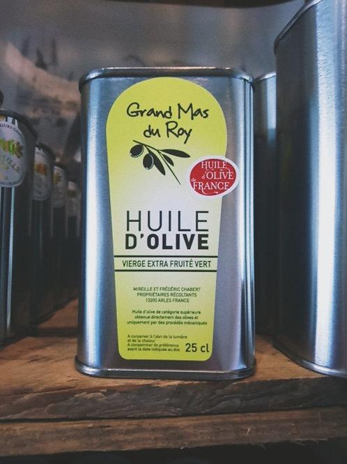 Huile d'olive vierge verte 25 cl