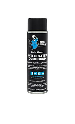 Water-Based Anti-Spatter, 16oz can, Blue Demon