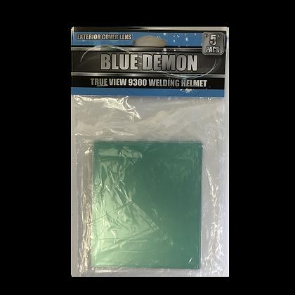 True Tone 8300 Exterior Cover Lens 5 Piece Pack Blue Demon