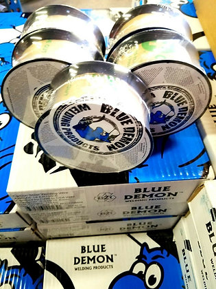 E71T-GS .030 x 2 Lb 10 PK MIG Gasless Flux Core Welding Wire Spools Blue Demon