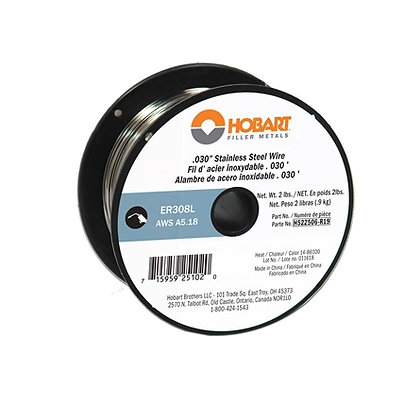 ER308L Stainless Wire .030 - 2 lb. Spool Hobart