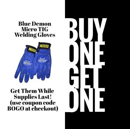 Blue Demon Micro TIG Welding Gloves BOGO!!!