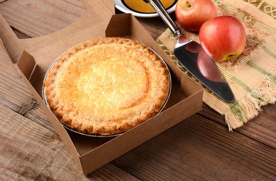 Nice apple pie on a carton box.jpg