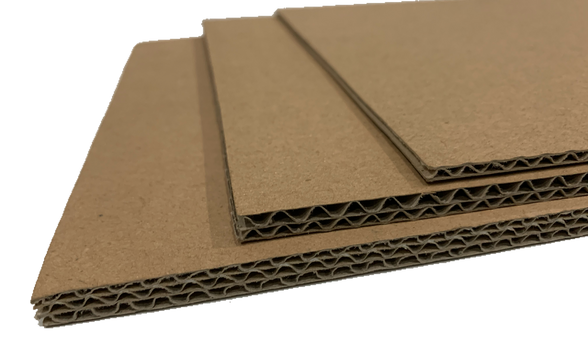 Corrugated Carton Layers