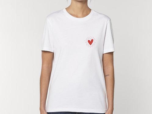 """T-shirt """"Coeur au Soleil"""""""