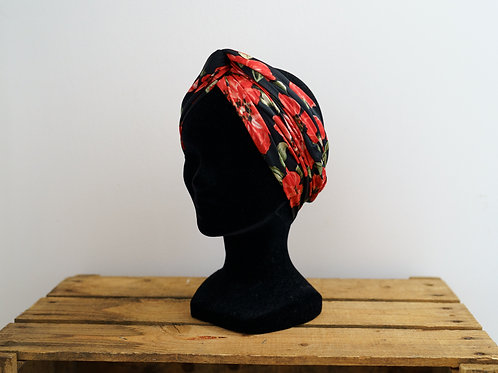 Grand foulard Coquelicot