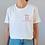 Thumbnail: T-shirt rétais(e) de sainte Marie X brodé main