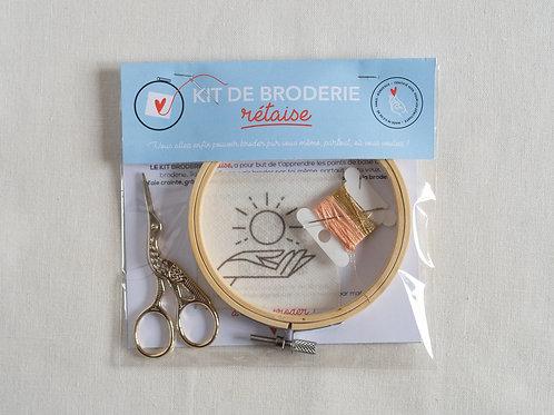 Kit broderie - Sunshine