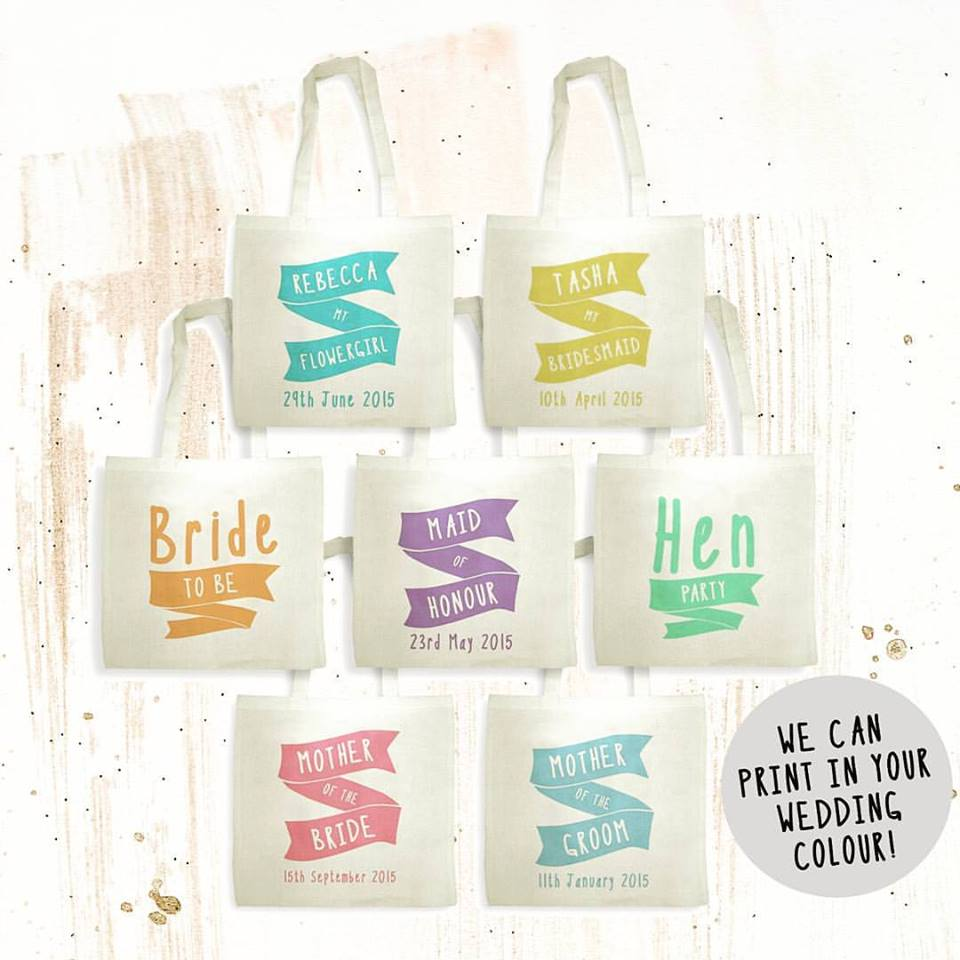bridesmaid personalised cotton bag2