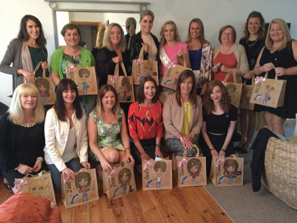 hen party personalised jute bags