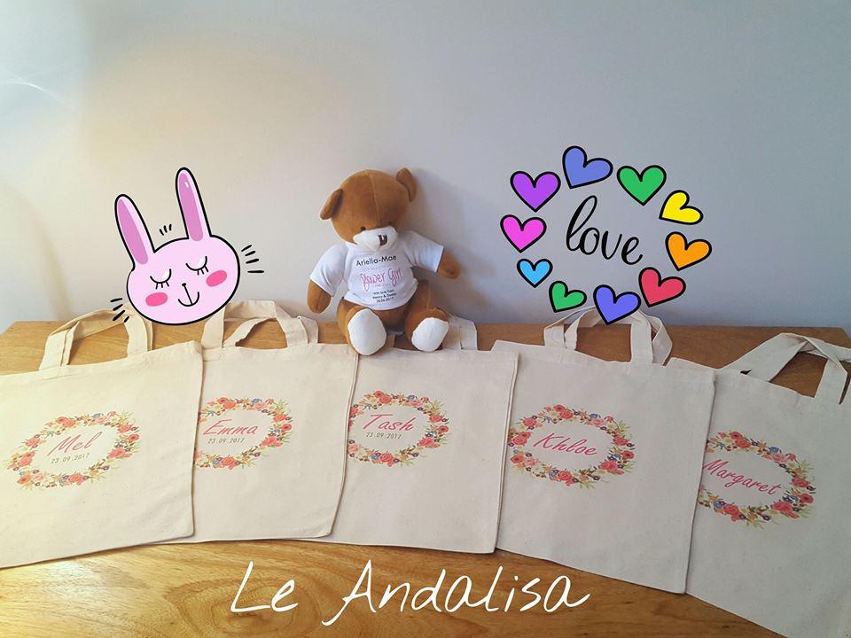 bridesmaid personalised cotton bag3