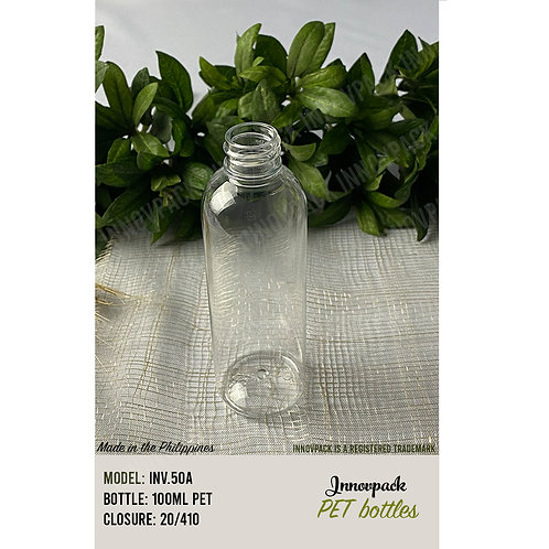 100 ML ROUND COSMO BOTTLE ONLY 98PCS X 5.88 PHP/PC