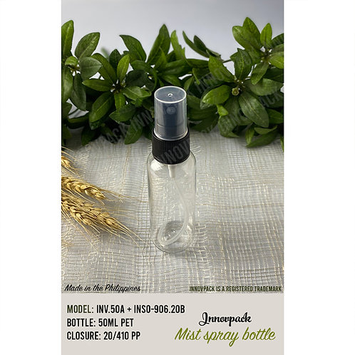 50 ML ROUND COSMO BOTTLE  WITH MIST SPRAY 180PCS X 8.69 PHP/PC