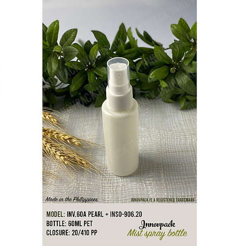 60 ML ROUND CYLINDRICAL BOTTLE WITH MIST SPRAY 153PCS X 9.94 PHP/PC