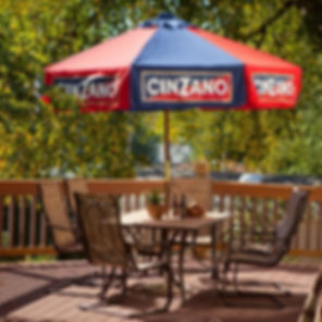 9ft Cinzano Umbrella