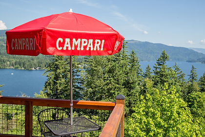 Campari Umbrella