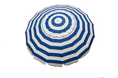 1122 Royal Blue and White Umbrella