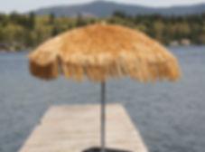 7.6ft Whiskey Palapa Umbrella