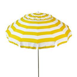 1123 Yellow and White Umbrella