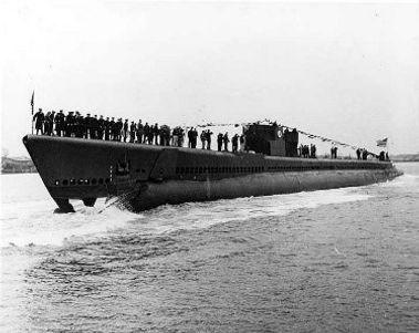 The USS Plaice