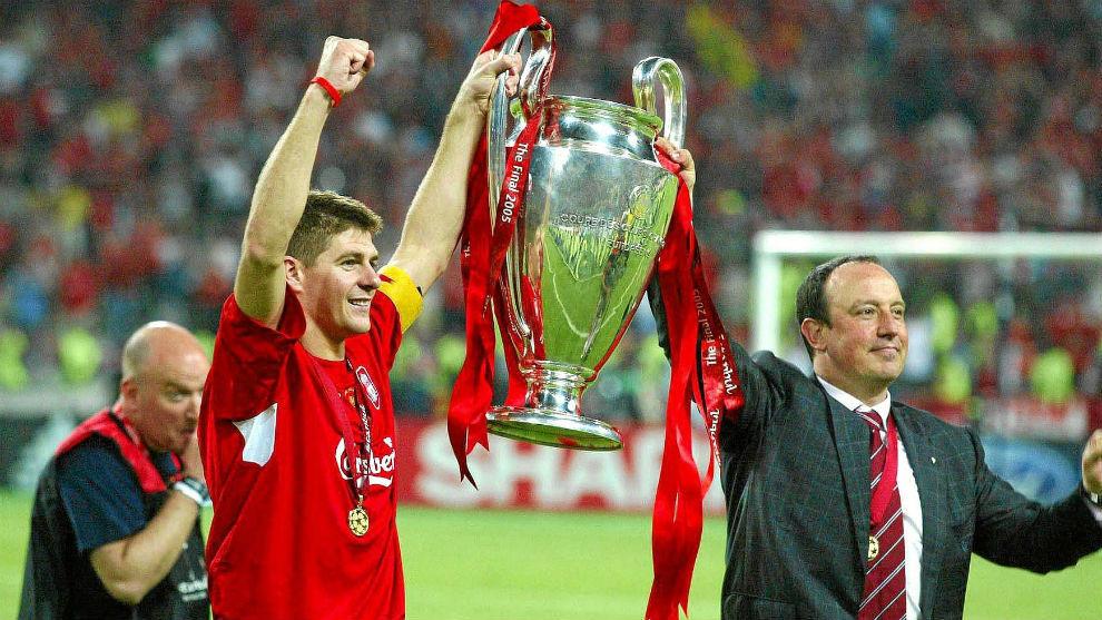Gerard y Benítez levantan la Champions