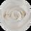 Thumbnail: Vase de 3 Roses Eternelles sur tige - Blanc Pur