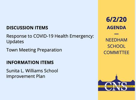 SC Meeting: June 2, 2020