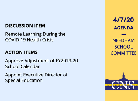 SC Meeting: April 7, 2020