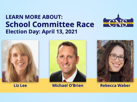 2021 School Committee Race