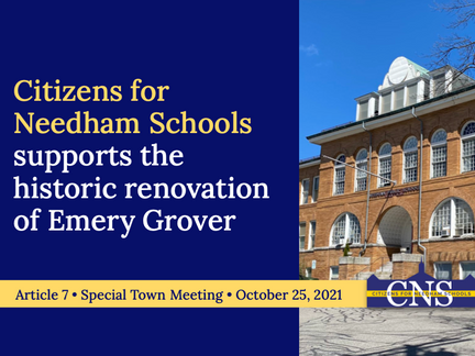 CNS Supports the Historic Renovation of Emery Grover