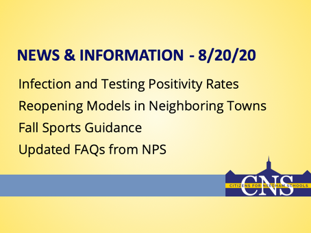 News & Information - 8/20/20