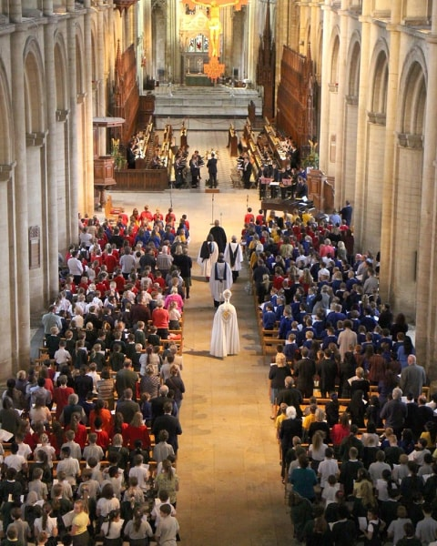 Peterborough Cathedral choir