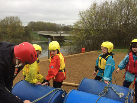 Grendon Blog 2 - Wed pm Rafting