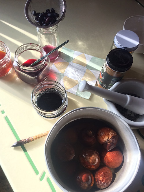 Natural Inks in the Kitchen; Nov 5; 6-8pm