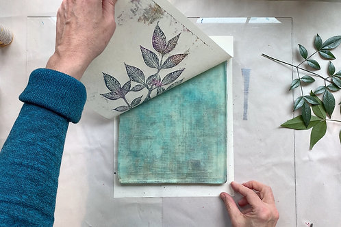 One-to-One Printmaking Lesson (3 hours)