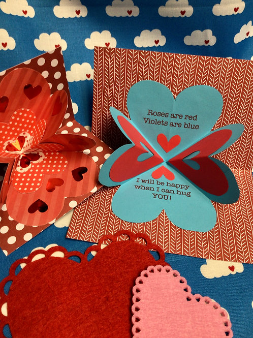 Sweet Hearts: Easy Pop-up Valentines; Jan 31; 1pm-3pm