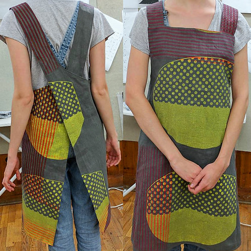Make Your Own Screenprinted Apron; May 15, 22 and 23; times vary