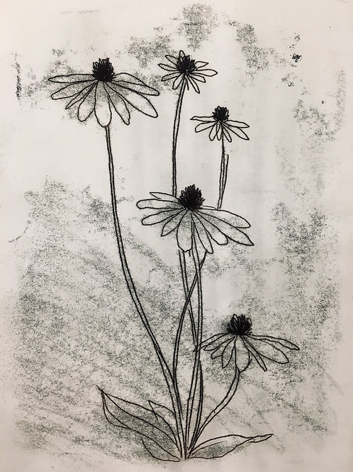Zoom+Make: Trace Monotypes; Jan 26; 7-9pm