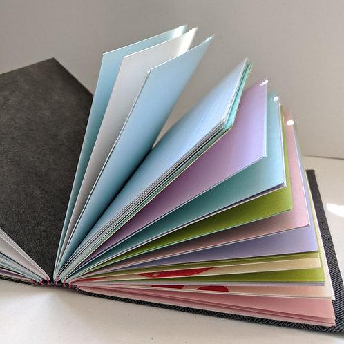 DIY Personalized Sketchbooks; Feb 28; 12pm-6pm