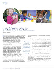 Julie Costakis - Early Childhood Program