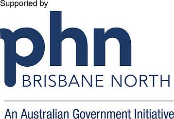 PHN Brisbane North logo - supported by.j